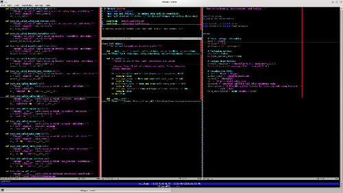 Vim Screenshot 1